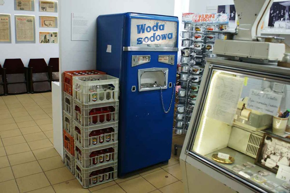 Saturator uliczny automat